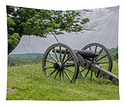 Gettysburg Cannon  Tapestry