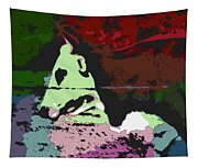Ghost Cow Tapestry