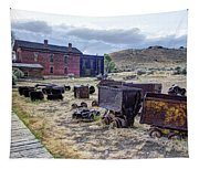 Ghost Mining Town Of Montana Tapestry