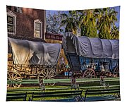 Ghost Of Old West No.1 Tapestry