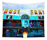 Ghost Train Tapestry