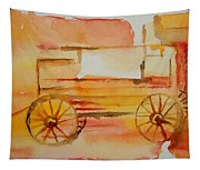 Ghost Wagon Tapestry