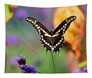Giant Swallowtail Butterfly Photo-painting Tapestry