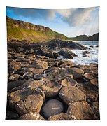 Giant's Causeway Circle Of Stones Tapestry