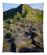 Giant's Causeway Green Peak Tapestry