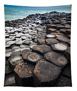 Giant's Causeway Hexagons Tapestry