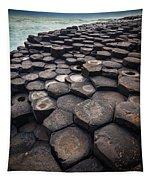 Giant's Causeway Pillars Tapestry