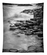 Giant's Causeway Waves  Tapestry