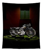 Gilera Vl Lusso And Italian House Tapestry