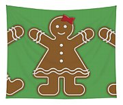 Gingerbread People Tapestry