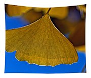Gingko Leaf Losing Chlorophyll Tapestry