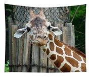 Giraffe-really-09025 Tapestry
