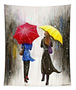 Girlfriends Tapestry