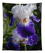 Giverny Iris Tapestry