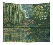 Giverny Reflections Tapestry