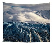 Glacier In The Clouds Tapestry