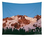 Glacier Peak At Kennedy Ridge Tapestry