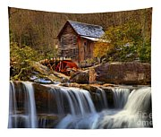 Glade Creek Cascades Tapestry