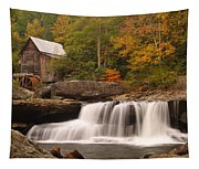 Glade Creek Grist Mill 10 Tapestry