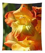 Gladiolus Named Halloween Tapestry