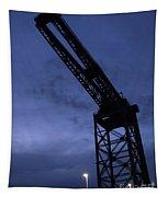 Glasgow Dock Crane 02 Tapestry