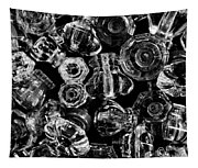 Glass Knobs - Bw Tapestry