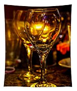 Glasses Aglow Tapestry