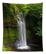 Glencar Waterfall Is Situated Tapestry
