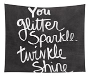 Glitter Sparkle Twinkle Tapestry