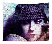 Gloria Swanson Oil Tapestry