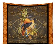 Glorious Birds-a2 Tapestry