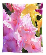 Glorious Summer Gladiolus Tapestry