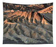 Glowing Badlands Tips Tapestry