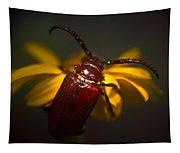 Glowing Beetle Tapestry