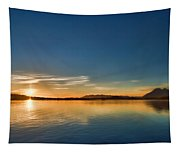 Glowing Clayquot Sound Tapestry