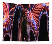 Glowing Curves Tapestry