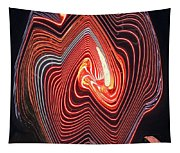 Glowing Lines Tapestry