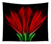 Glowing Red Tapestry