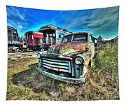 Gmc Coal Truck 1950s No 1 Tapestry