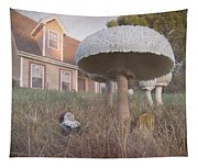 Gnome Home Tapestry