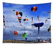 Go Fly A Kite 4 Tapestry