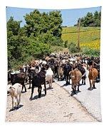 Goat Herd Tapestry