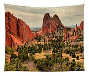 Gods Garden In Colorado Tapestry