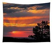 God's Spotlight Over Keystone Tapestry