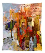 Going To The Medina In Morocco Tapestry