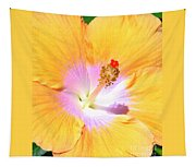 Gold Hibiscus Tapestry