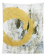 Gold Rush - Abstract Art Tapestry by Linda Woods