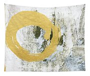 Gold Rush - Abstract Art Tapestry