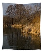 Golden Afternoon Reflections Tapestry