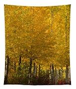 Golden Aspens Tapestry